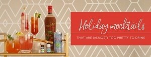 Holiday Mocktails that are (Almost) too Pretty to Drink